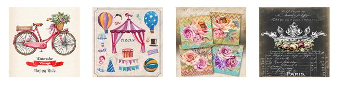 Bienvenidos titina 39 s materiales para el arte y la creatividad - Azulejos vinilicos ...
